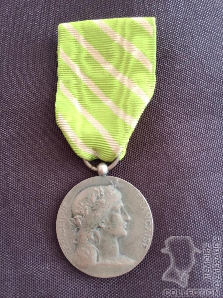 Médaille d'Honneur Employé Communaux Prosper RADENNE