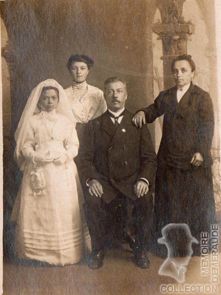 Famille RADENNE - Prosper RADENNE et Julie Maria RAMET