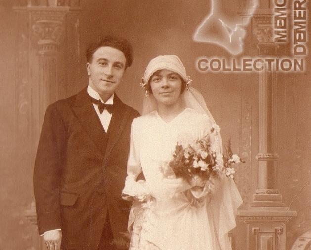 Joseph PERRIN - Olive RADENNE - 1929