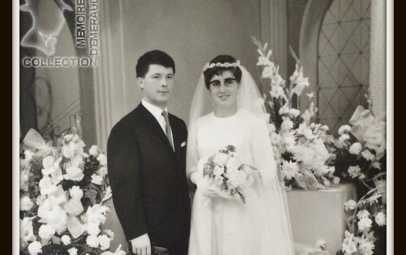 Mariage de Alfred RAMET et Marie-Thérèse VAMBRE - Etaples