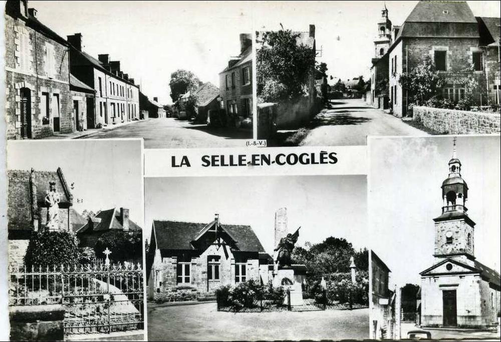La Celle en Coglès - Exode Etaples 1940