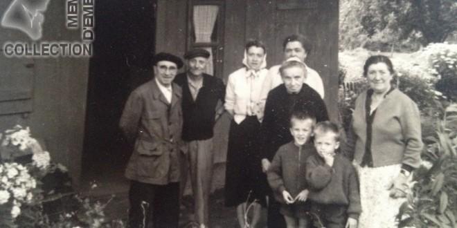 Famille PERRIN à UZEL avec Francis