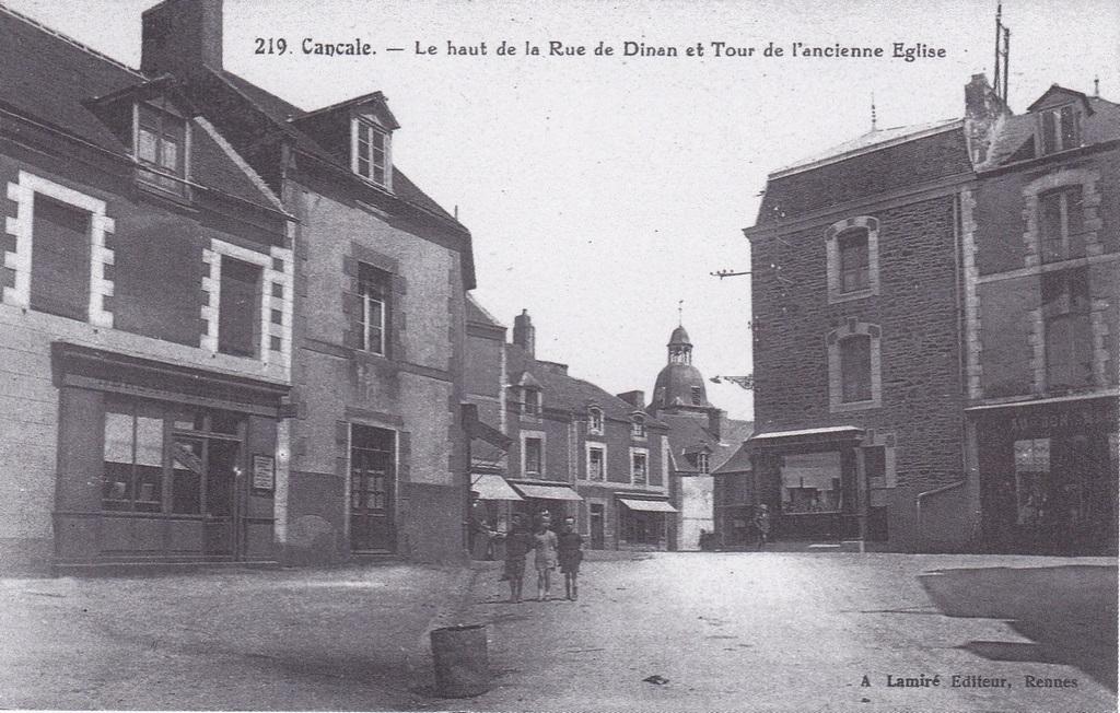Rue de Dinan, Cancale