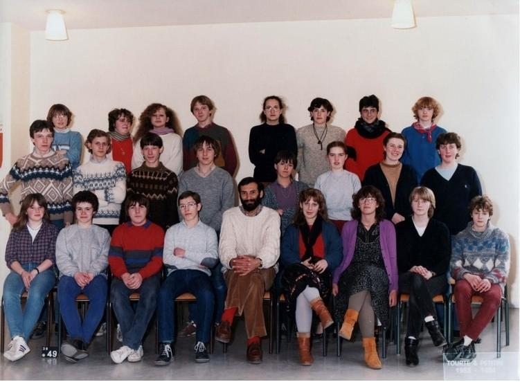 Lycée Mariette Boulogne/Mer Classe de Seconde 1984