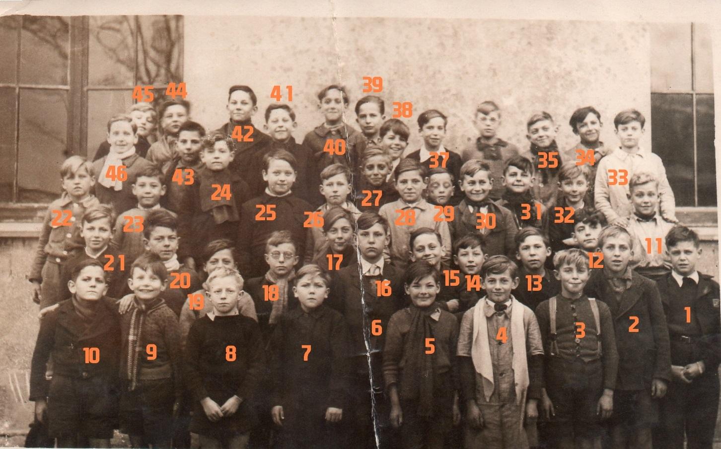 Ecole Dezoteux - Boulogne sur mer - Jean PERRIN