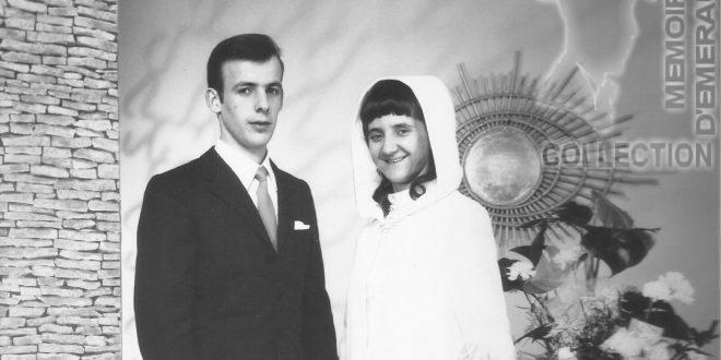 Jean Bernard POHIER - Micheline MONNIER - Mariage 1967