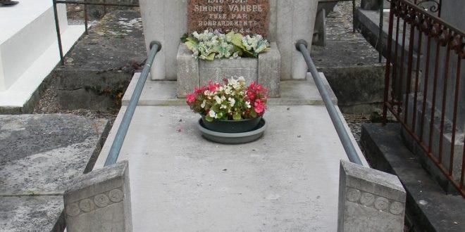 Sépulture VAMBRE - PREVOST - Cimetière d'Etaples