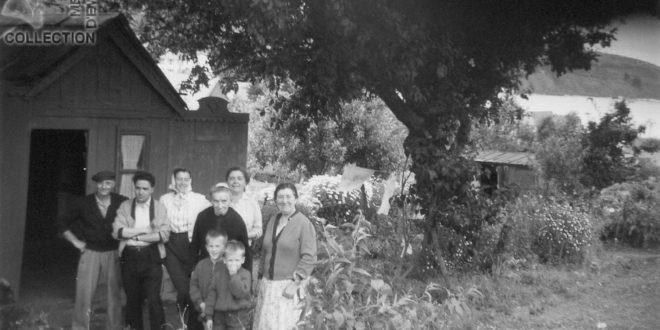Tante Céleste BURLOT - Francis - Chalet jardin St-Brieuc