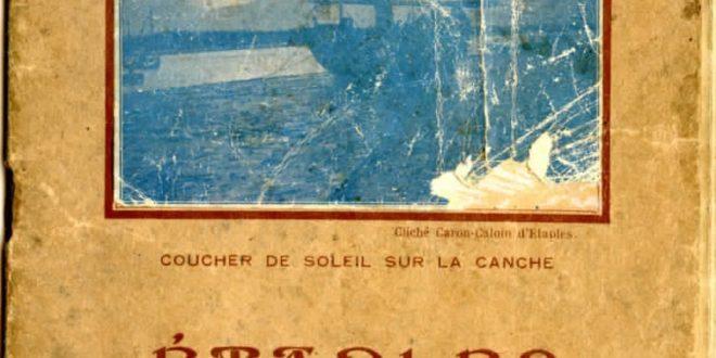 Etaples - 1934 - Almanach de la commune - Plan - Liste des commerçants